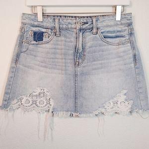 American Eagle Hi-Rise Festival Mini Skirt 4